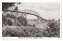 Real Photograph by N S Seaward of Auckland Harbour Bridge. - 45595 - Postcard