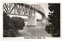 Real Photograph by N S Seaward of Auckland Harbour Bridge. - 45597 - Postcard