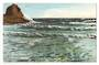 Coloured postcard of The West Coast Auckland. - 45605 - Postcard