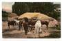Coloured postcard of (horses at) Atiamuri. - 45706 - Postcard
