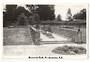 Real Photograph by N S Seaward of Memorial Park Te Awamutu. - 45729 - Postcard