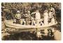 Real Photograph of Tourists in Row Boat at Hamurana Springs. - 45974 - Postcard