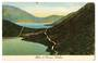 Coloured postcard of Blue and Green Lakes. - 45976 - Postcard