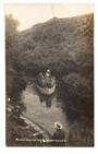 Real Photograph by Radcliffe of Hamurana Spring Rotorua. Crease. - 45993 - Postcard