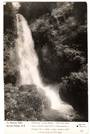 Real Photograph by Dawson of Wairoa Falls Buried Village. - 46010 - Postcard