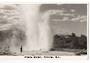 Real Photograph by N S Seaward of Pohutu Geyser. - 46102 - Postcard