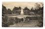Real Photograph by Radcliffe of Sanitorium Grounds Rotorua. Very slight damage bottom right. - 46108 - Postcard