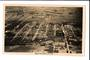 Real Photograph by A B Hurst & Son of an Aerial View of Rotorua. - 46120 - Postcard