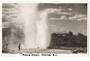 Real Photograph by N S Seaward of Pohutu Geyser. - 46130 - Postcard