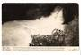 Real Photograph by Dawson of Okere Falls Rotoiti. - 46252 - Postcard