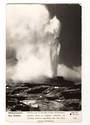 Real Photograph by Dawson of Pohutu Geyser Whakarewarewa. - 46255 - Postcard