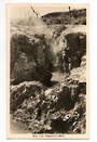 Real Photograph by A B Hurst & Son of Hell's Gate Tikitere. - 46294 - Postcard