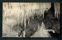 Real Photograph by Radcliffe of Stalactites Waitomo Caves. - 46403 - Postcard