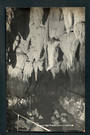 Real Photograph by Radcliffe of the Entrance Hall Aranui Caves, Waitomo. - 46404 - Postcard