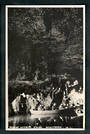 Real Photograph by N S Seaward of Glow-worm Cave Waitomo. - 46460 - Postcard