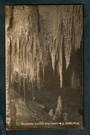 Real Photograph by Radcliffe of Ruakuri Caves Waitomo. - 46489 - Postcard