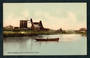 Coloured postcard by Photochron of Waihi Dredging Plant on Ohinemuri River. - 46533 - Postcard