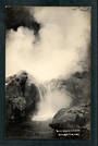 Real Photograph by Radcliffe of Twins Geyser in action. - 46671 - Postcard