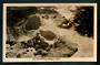 Real Photograph by A B Hurst & Son of Mud Pools Wairakei Valley. - 46718 - Postcard