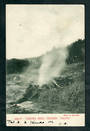 Early Undivided Postcard by Muir & Moodie of Crow's Nest Geyser Taupo. - 46757 - Postcard