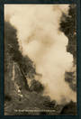 Real Photo by Radcliffe of the Great Wairaki Geyser. - 46762 - Postcard
