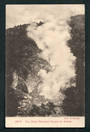 Early Undivided Postcard by Muir & Moodie of The Great Wairakei Geyser in action. - 46778 - Postcard