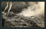Real Photograph by Radcliffe of The Eagles Nest Geyser Wairakei. - 46797 - Postcard
