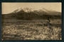 Real Photograph of Mt Ruapehu. I think this is from the Desert Road. - 46803 - Postcard