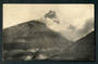 Real Photograph by Radcliffe of Mt Ngauruhoe in Eruption. - 46807 - Postcard