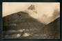 Real Photograph by Radcliffe of Mt Ngauruhoe in Eruption. - 46808 - Postcard