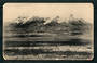 Postcard by H Winkleman of Mt Ruapehu from the Tokaanu Road (the Desert Road). Rounded edges. - 46809 - Postcard