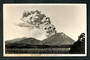 Real Photograph by A B Hurst & Son of Mt Ngauruhoe in Eruption. - 46811 - Postcard