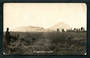 Real Photograph by Radcliffe of Mt Ngaruahoe. Tired. - 46813 - Postcard
