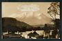 Real Photograph of Mt Ruapehu from Ohakune. - 46823 - Postcard