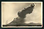 Real Photograph of Ngauruhoe Volcano in violent eruption. - 46824 - Postcard