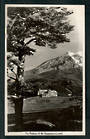Real Photograph by A B Hurst & Son of The Chateau and Mt Ruapehu. - 46825 - Postcard