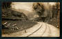 Real Photograph by Radcliffe of Train ascending the Spiral. - 46828 - Postcard