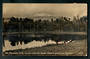 Real Photograph of Mt  Ruapehu from the Lakes about 4 miles from Ohakune. - 46830 - Postcard