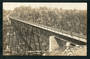 Real Photograph by Radcliffe of Makatote Viaduct Main Trunk Line. - 46836 - Postcard