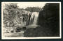 Real Photograph by A B Hurst & Son of Tawhia Falls National Park - 46838 - Postcard