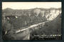 Real Photograph by Radcliffe of Mangaweka Gorge. - 46878 - Postcard