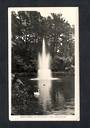 Real Photograph by A B Hurst & Son of The Fountain Pukekura Park New Plymouth. - 47032 - Postcard