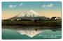 Coloured Real Photograph by Radcliffe of Mount Egmont. - 47081 - Postcard