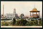 Coloured postcard of Post Office and Rotunda Palmerston North. - 47224 - Postcard