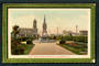 Coloured Postcard by A A Pratt of Post Office abd Fountain Palmerston North. - 47261 - Postcard
