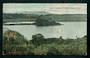 Coloured postcard of Lake Takapu Forest Lakes Otaki. - 47307 - Postcard