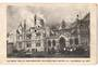 Postcard of the Great Fire at Parliamentary Buildings 11/12/1907. - 47377 - Postcard