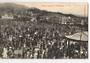 Postcard of Basin Reserve Wellington. Social event. - 47390 - Postcard