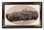Real Photograph of Courtney Place and Mt Victoria. Trams. - 47561 - Postcard