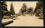 Real Photograph of The Park Masterton. - 47858 - Postcard